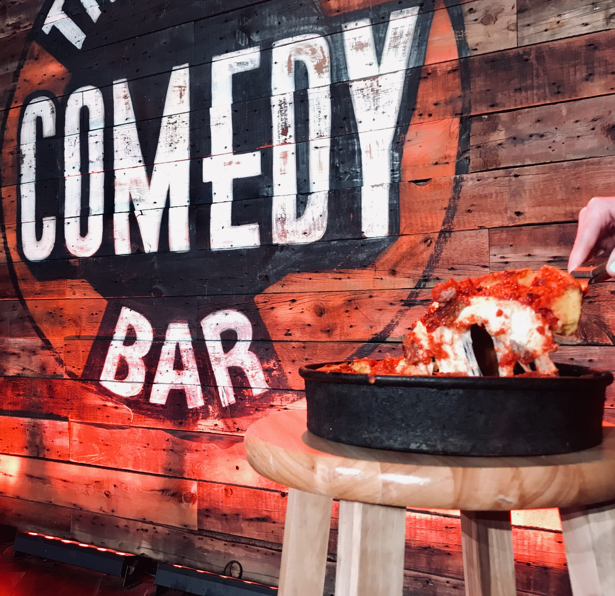 The Comedy Bar in Chicago